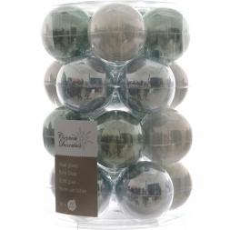 Glas Kerstballen Mix (60mm) Box 20 Stuks Misty Lake