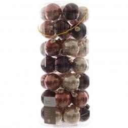 Glas Kerstballen Mix (60mm) Box 49 Stuks Palazzo Chique