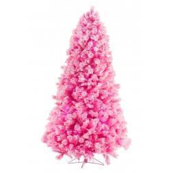 Roze kerstboom Excellent Trees Led Levanne Pink 200 cm