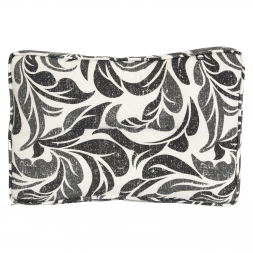 Kopu Retro Flower Grey Lounge Rugkussen 60 cm