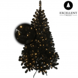 Excellent Trees® Led Stavanger Black 180 cm
