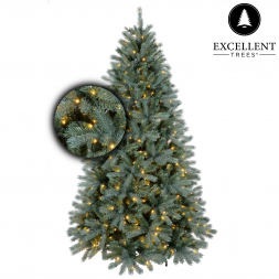 Excellent Trees® Led Uppsala Blue 120 cm