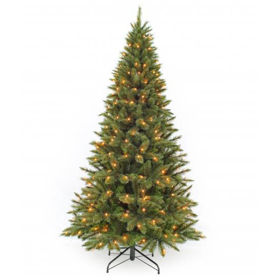 Triumph Tree Led Forest Frosted Pine Slim 215