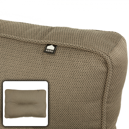 Kopu Manchester Taupe Lounge Rugkussen (60x40 cm)