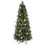 Kerstboom met verlichting Easy Set Up Tree Led Mandal Decorated 180 Bronze