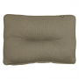 Kopu Manchester Taupe Lounge Rugkussen (60x40 cm) Afbeelding 2